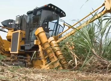 广西柳工甘蔗耕种管收运视频