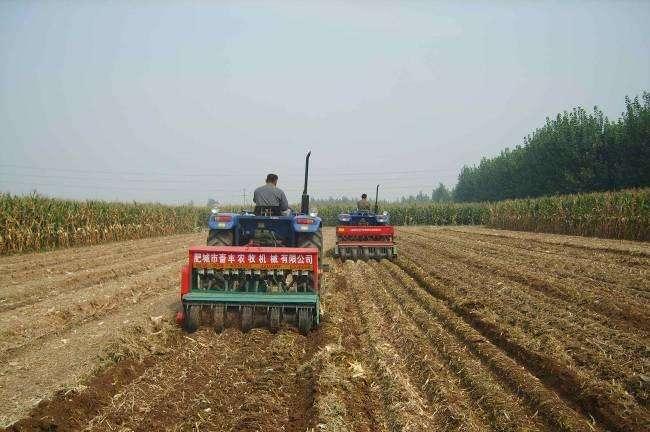 青岛对部分农机补贴机具实行市级资金累加补贴