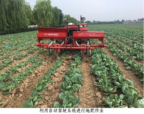 北京:自动导航驾驶系统首次尝试小马力农机应用