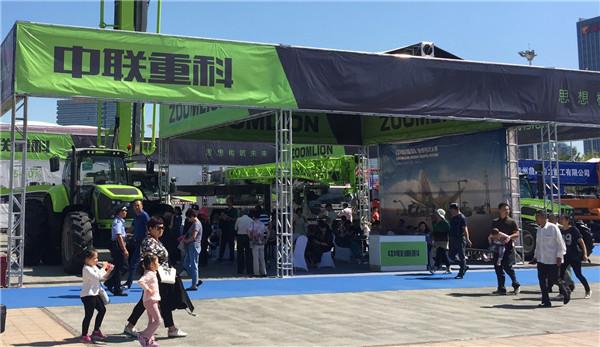 中联重科高端农机亮相第六届中国-亚欧博览会