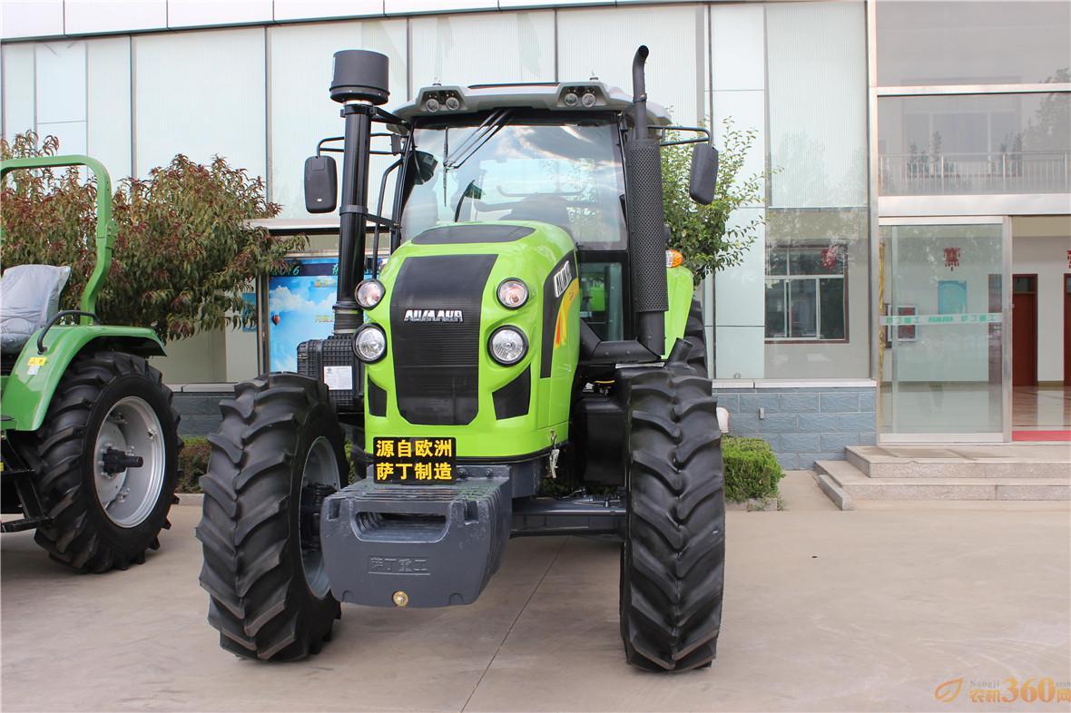 中国首台高端智能变频拖拉机—萨丁SD1604Plus成功上市