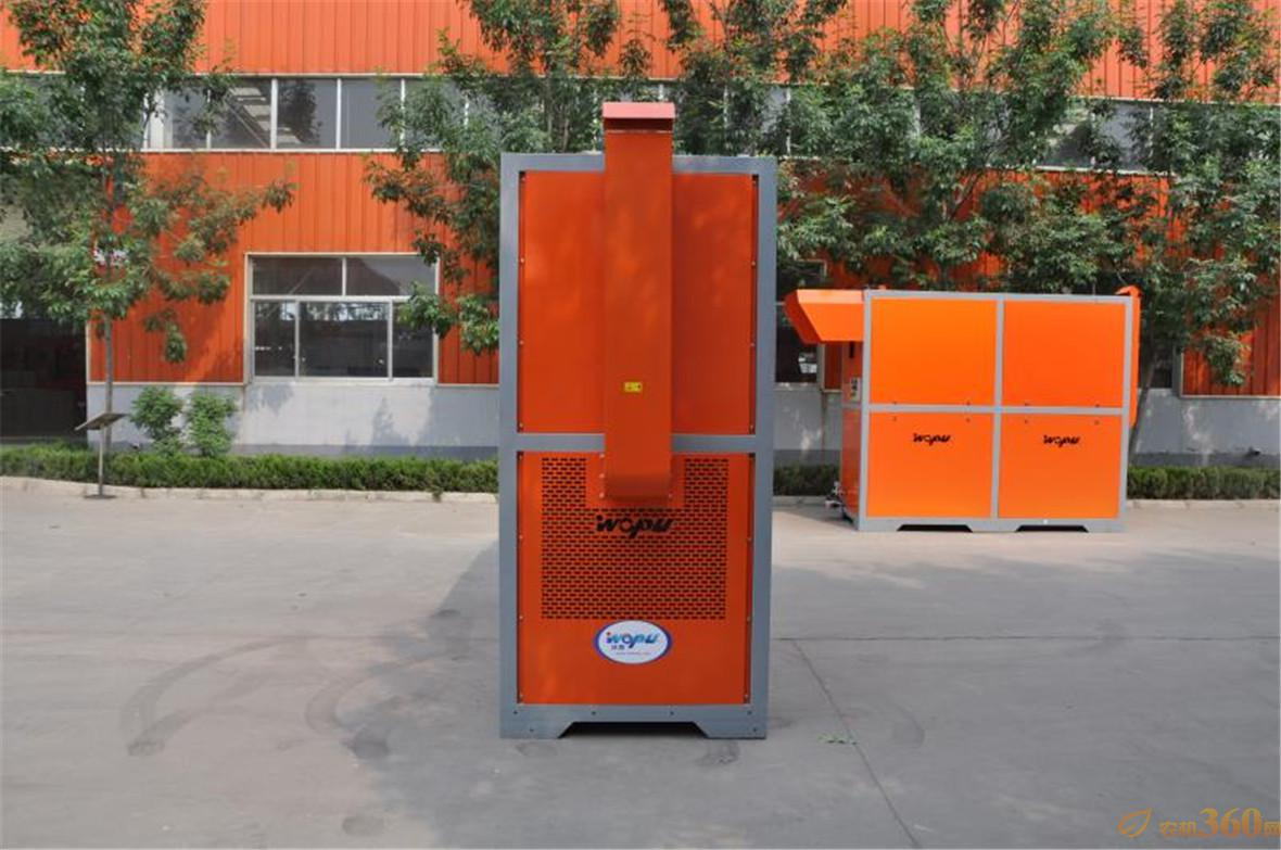 新型环保热风炉优点:以醇基生物油为燃料,燃烧成本低