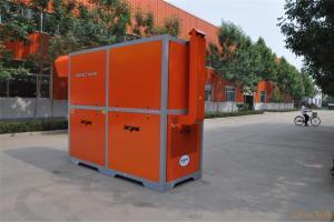 新型环保热风炉优点:自动化程度高,装有温度自动调节装置,实现了自动控温,操作简便