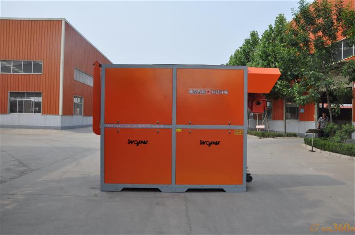 新型环保热风炉优点:内部结构设计合理,排烟系统内置,极大提高了热利用率