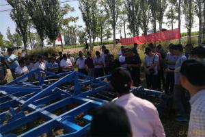 德国LEMKEN宁夏农业机械化演示会