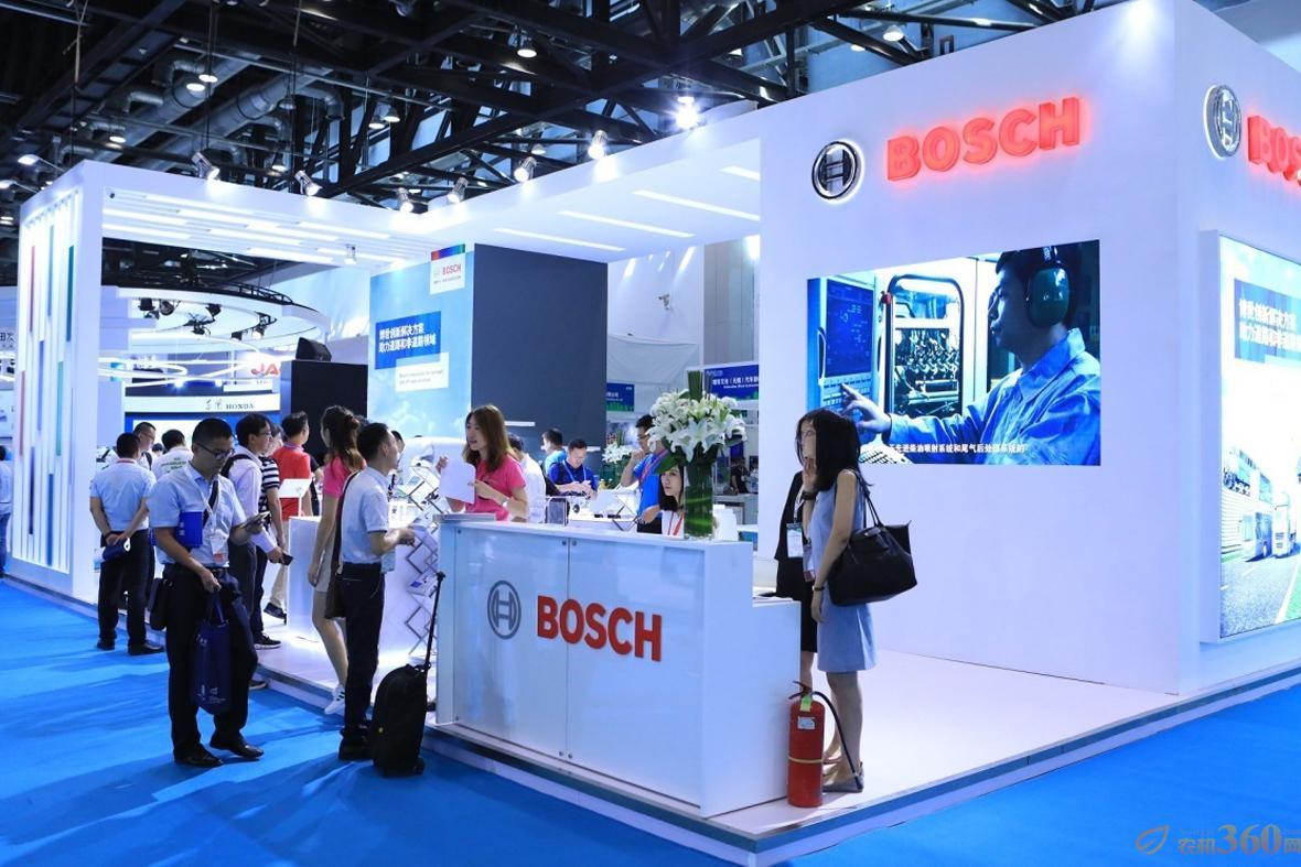 博世亮相第十六届中国国际内燃机及零部件展览会