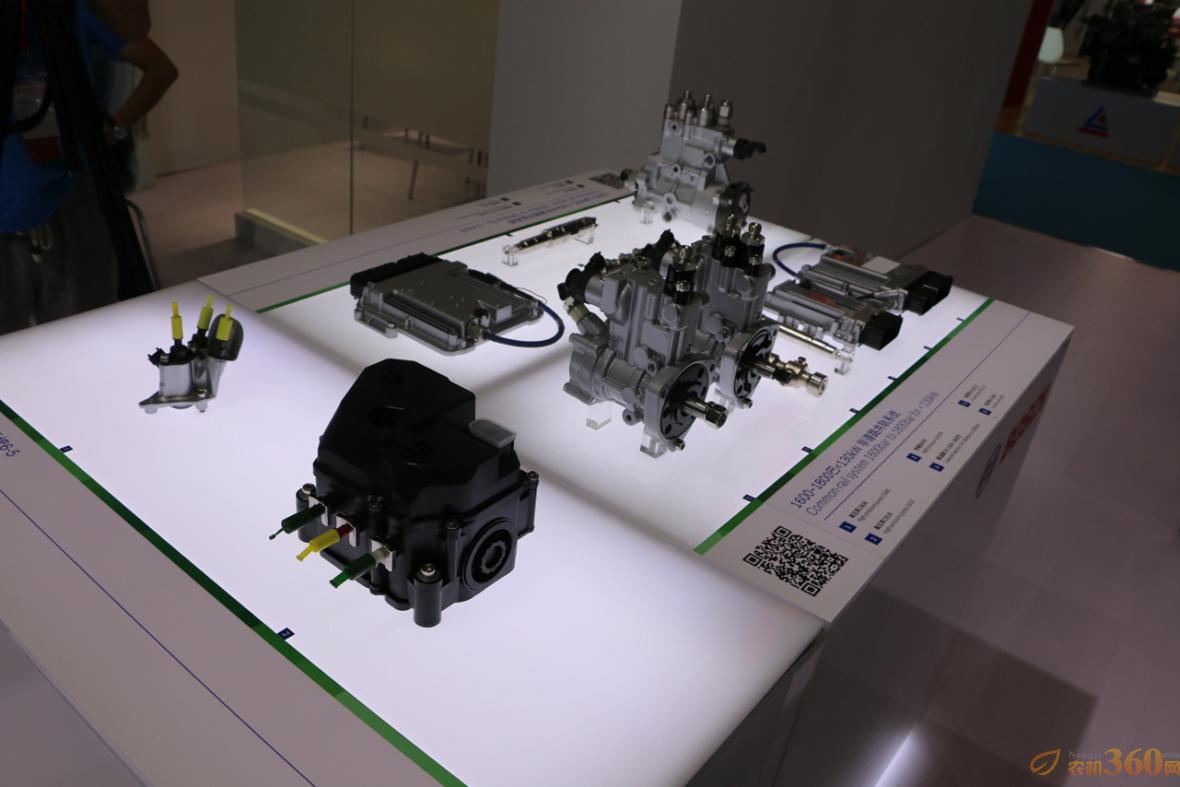 满足非道路国四排放要求的CRS(N)14 S3柴油喷射系统