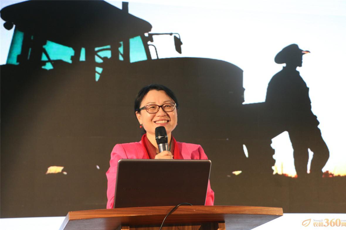 约翰迪尔中国技术创新中心主任 张宏岩博士