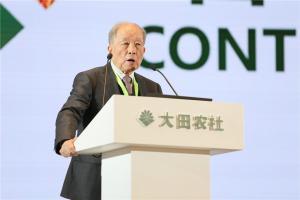中国工程院院士汪懋华就数字经济时代推进农业机械化和装备工程创新驱动发展,发表了热情洋溢的讲话。