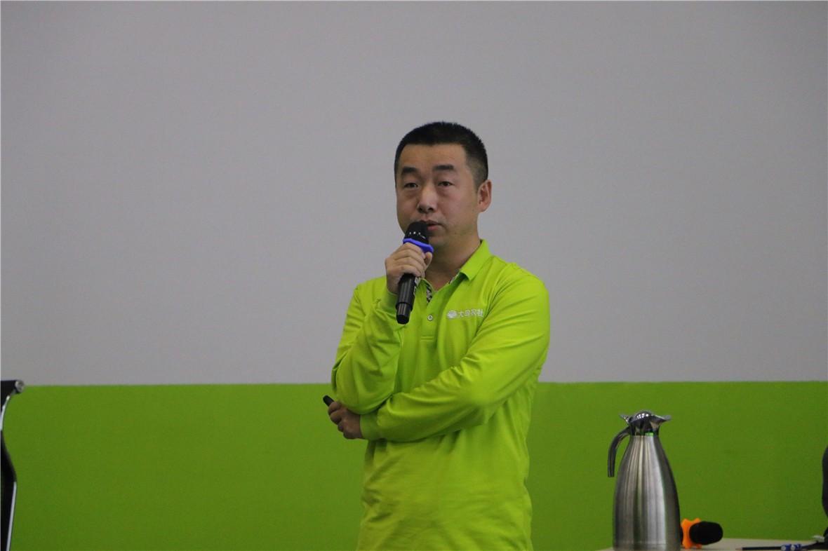 大田农社产品总监张振宇发言