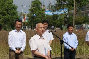 中国农业机械化流通协会王玉狮副会长致辞。