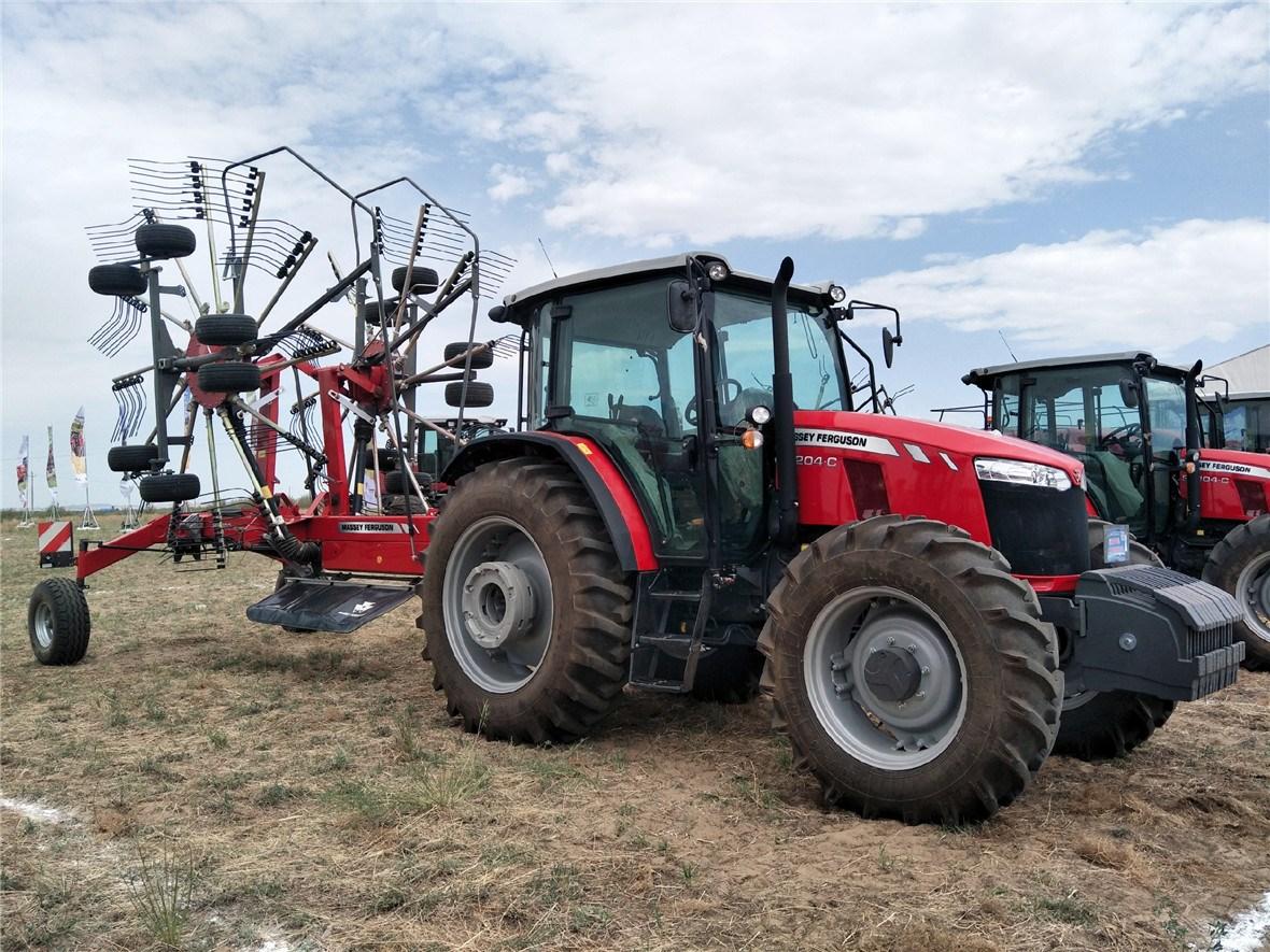 全球系列配套MF RK802转子搂草机
