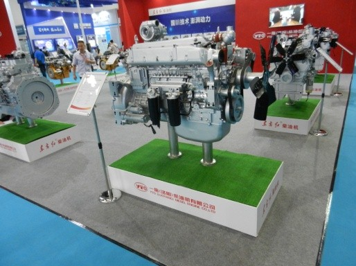 东方红共轨电控柴油机精彩亮相中国国际内燃机展览会