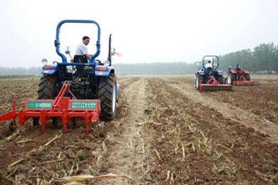 甘肃省对农机购置补贴范围内的机具全部敞开补贴