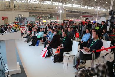 洋马农机新品发布会在武汉秋季展会成功举办