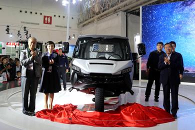 五征新产品惊艳2017中国国际农业机械展览会