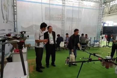 珠海羽人邀您中国国际农机展览会B471展位看农用无人机飞行作业展示