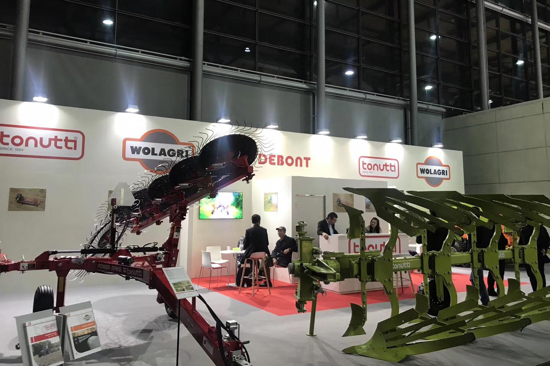 德邦大为率意大利百年牧草设备企业亮相汉诺威农机展