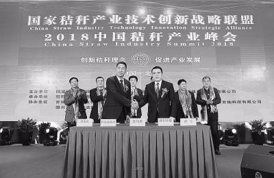 2018中国秸秆产业峰会举办