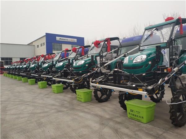 24台雷沃阿波斯植保机械助力临淄粮食高产创建项目