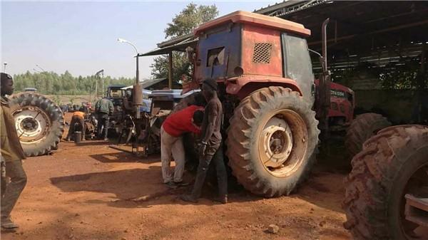 """寻找老农机——苏丹用户卡扎姆的""""老欧豹"""""""