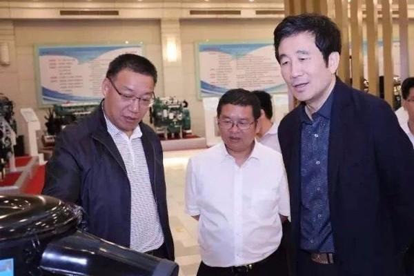 中国内燃机工业协会会长、玉柴股份董事长晏平访问解放发动机事业部