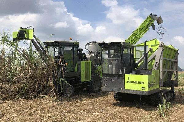 中联重科:甜蜜家族再添新战将一AC60轮式甘蔗收获机