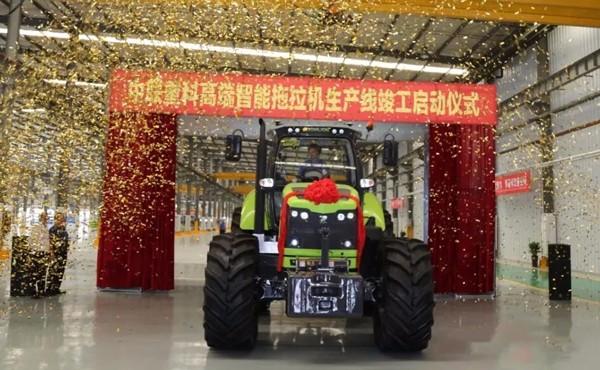 提升智能制造水平 中联重科高端拖拉机生产线正式启动