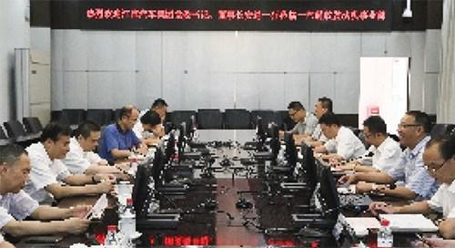 深化务实合作 实现共赢发展 江淮汽车公司董事长安进访问解放发动机事业部