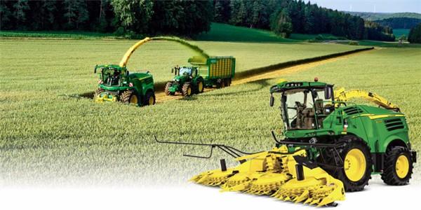 约翰迪尔全线农业设备解决方案邀您共聚2018全国农机展!