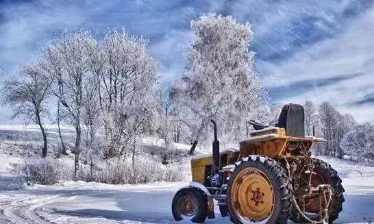 """快入冬了,这份""""农机保温防冻经""""请收好!合理使用,减少损耗"""