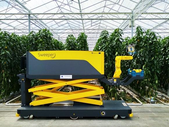 """最擅长精细农业的以色列,发明了一款""""摘甜椒机器人"""""""