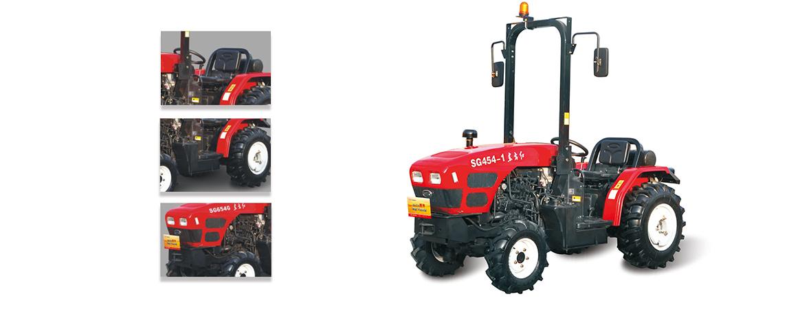 东方红SG454-1拖拉机细节
