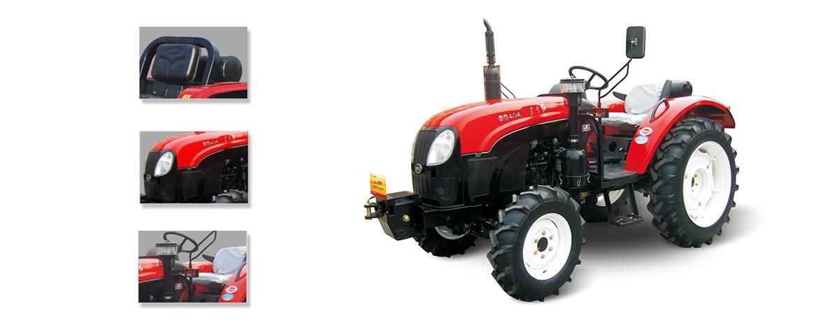 东方红SG400轮式拖拉机细节