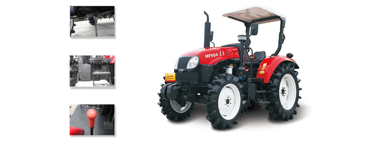 东方红MF604型(水田)轮式拖拉机细节