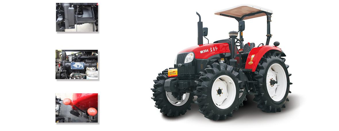 东方红MK904(水田)型轮式拖拉机细节