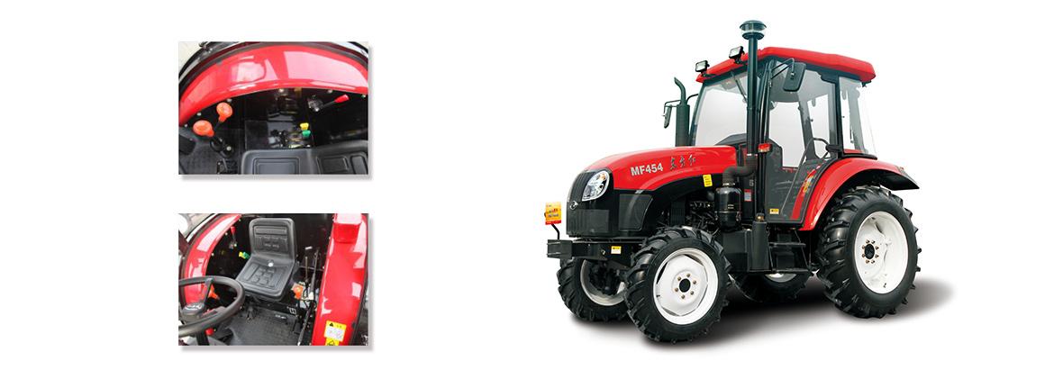 东方红MF454轮式拖拉机细节