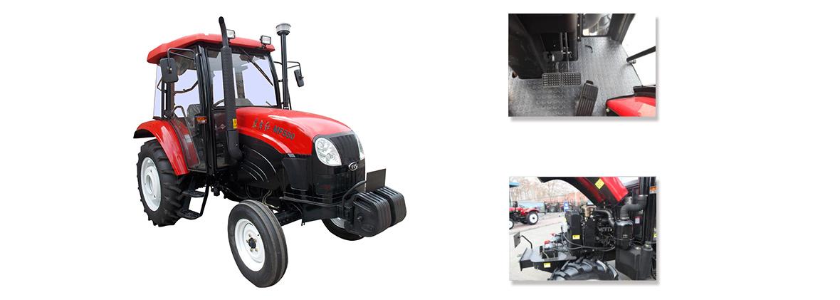 东方红MF554型轮式拖拉机细节