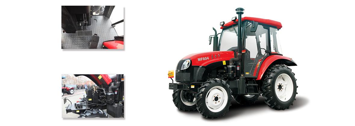 东方红MF604型轮式拖拉机细节