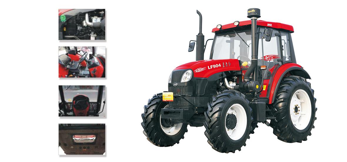 东方红智锐LF904动力换挡轮式拖拉机细节