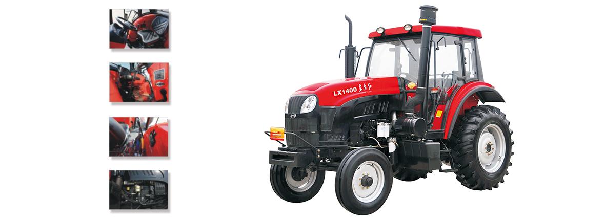 东方红LX1400型系列轮式拖拉机细节