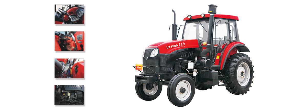 东方红LX1500型系列轮式拖拉机细节