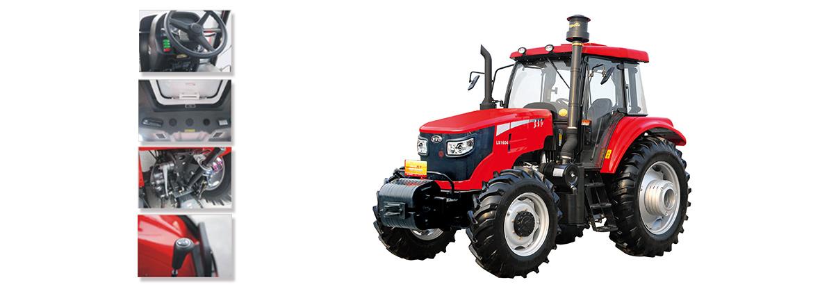 东方红LX1604轮式拖拉机细节