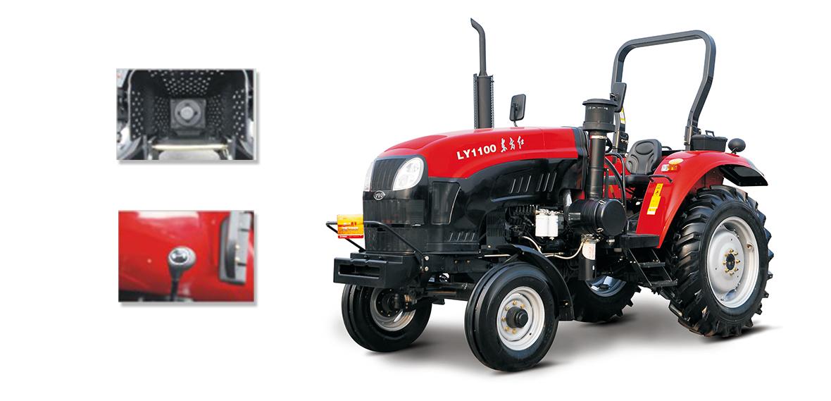 东方红LY1100轮式拖拉机细节