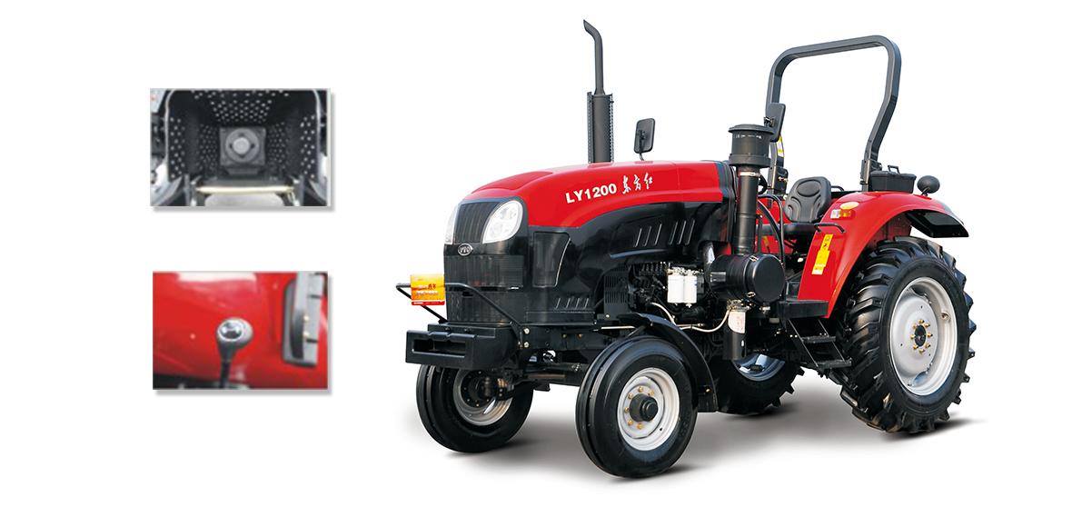 东方红LY1100型轮式拖拉机细节