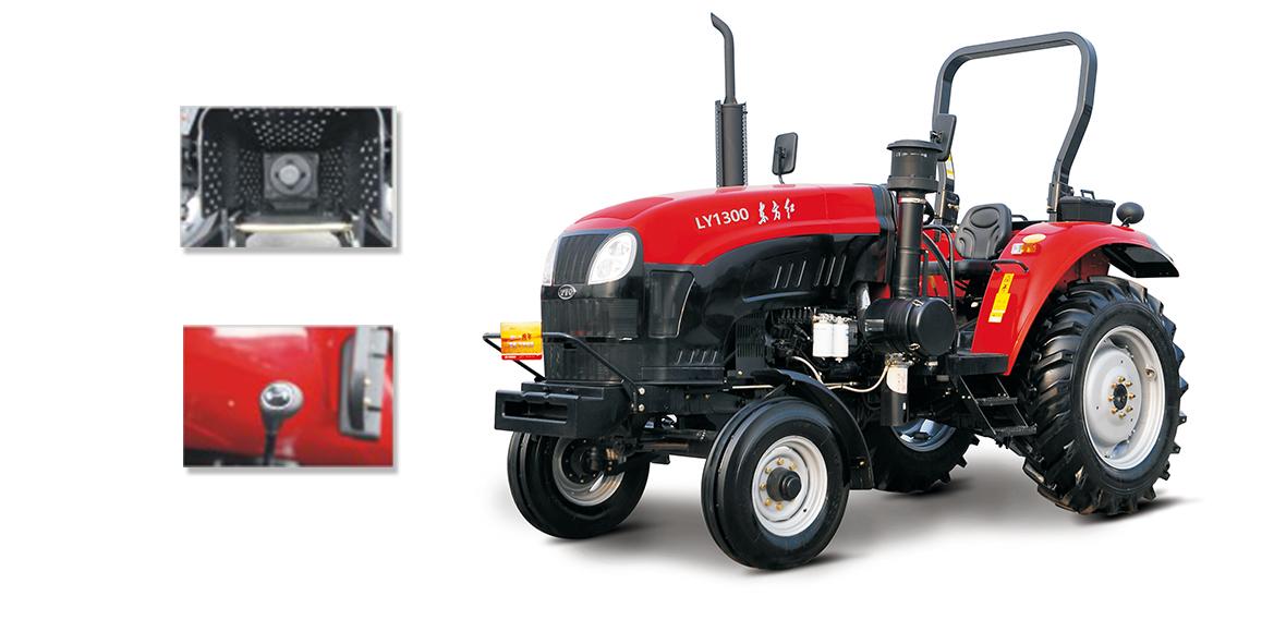 东方红LY1300型轮式拖拉机细节