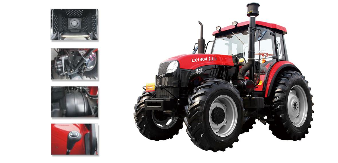 东方红天骄LX1404轮式拖拉机细节