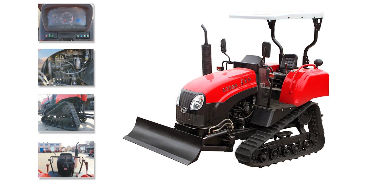 东方红C702S履带式拖拉机细节