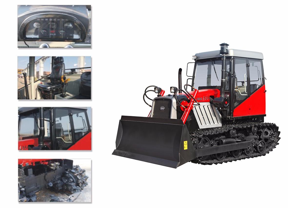 东方红C1202履带式拖拉机细节