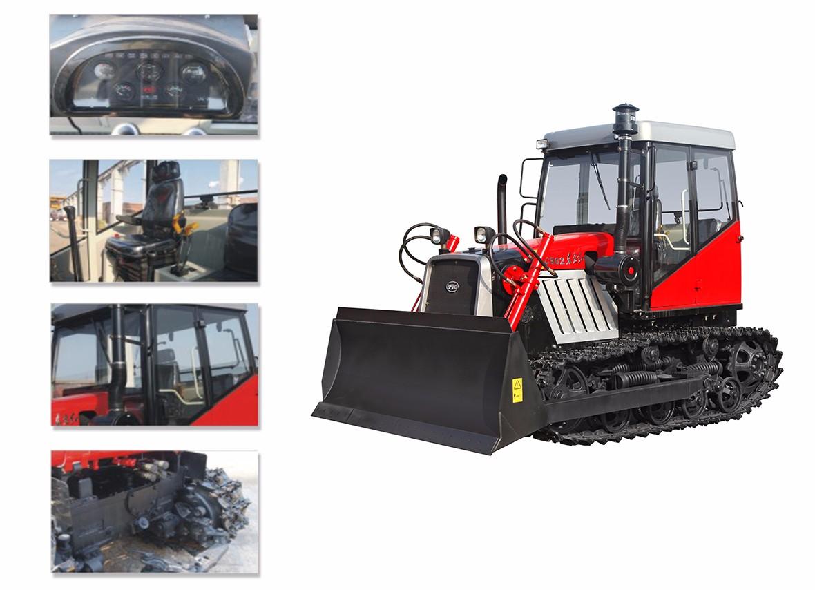 东方红C902履带式拖拉机细节